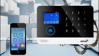GSM, WiFi сигнализация PG-103 с поддержкой RFID. Охранная система для дома, офиса