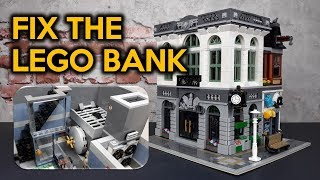 How to Fix the LEGO Brick Bank (10251)