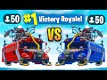 THE NEW UPGRADED 50 V 50 Gamemode V2 In Fortnite Battle Royale mp3