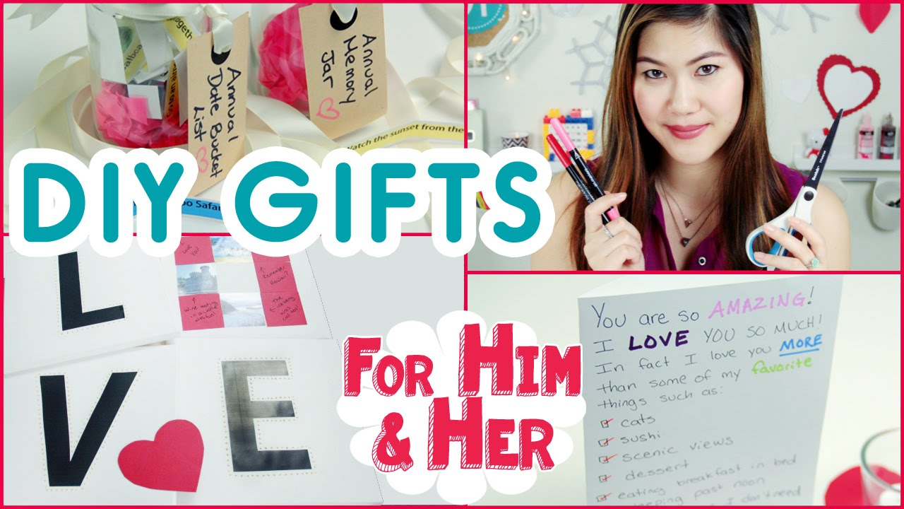 Diy Anniversary Gifts Or Valentine S Day For Him Her Decorateyou You