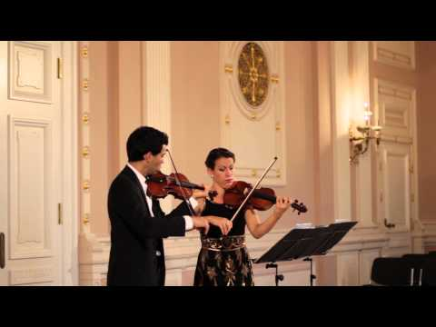 The Twiolins spielen Francois Joseph Gossec: Duett B-Dur