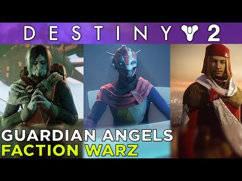 GUARDIAN ANGELS – Faction Warz in Destiny 2 with Griffin, Justin and Russ