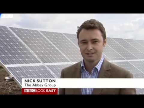BBC Wilburton giant solar farm connected to national grid