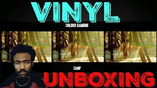 CAMP VINYL UNBOXING - CHILDISH GAMBINO ALBUM REVIEW | CHANNEL UPDATE