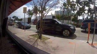 Gopro-South Miami Beach- FL state road A1A