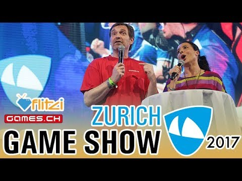 Zürich Game Show 2017 - Was gab's? - Games.ch & Flitzi Check