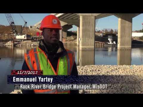 I-39/90 Southbound Rock River Bridge Demolition