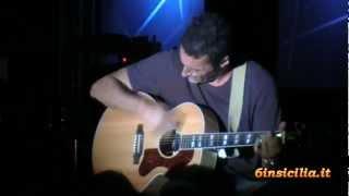 Alex Britti - assolo di chitarra - tour in Sicilia