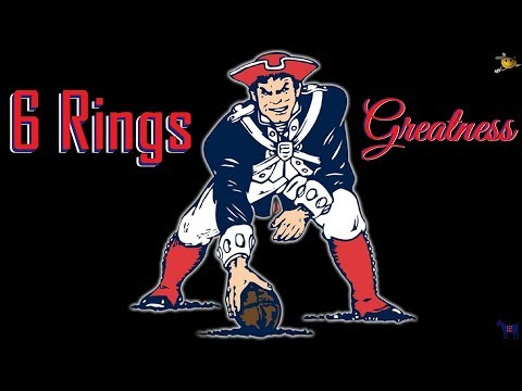 You Can't Deny Greatness (New England Patriots) 6 Rings
