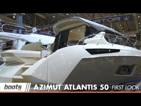 2014 Azimut Atlantis 50 First Look Video