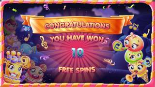 Sugar Parade - BIG WIN - Slot Features & Game Play - by Microgaming