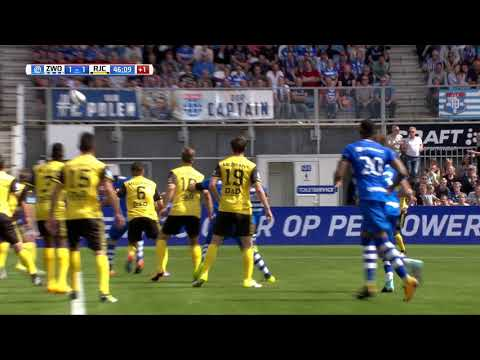 Samenvatting PEC Zwolle - Roda JC: 4-2