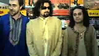 "Junoon Band Promotes Their Album ""Azadi"" In India 1998"
