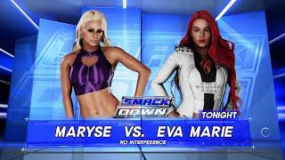 WWE 2K18 - Maryse VS Eva Marie