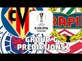 2018-19 EUROPA LEAGUE PREDICTIONS - GROUP G