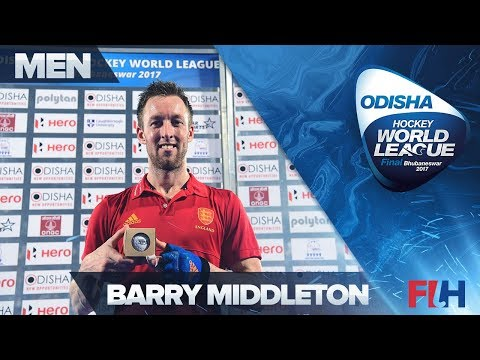 Barry Middleton 400th caps interview - Odisha HWL Final Bhubaneswar 2017
