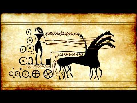 Dipylon Ancient Greek Art Rough Animation Test Loop