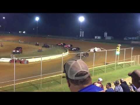 Fayetteville  Motor Speedway Dirt Open Wheel Modified 3/4 10-6-18