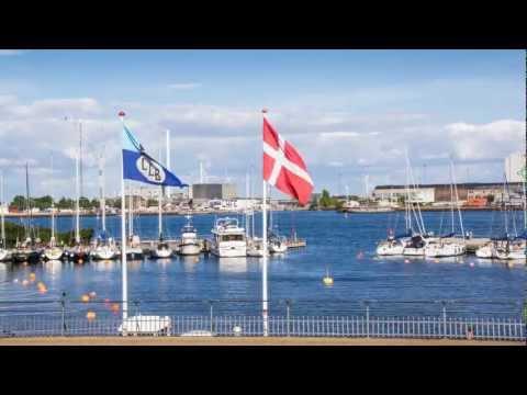 Copenhagen Langelinie Marina - time lapse