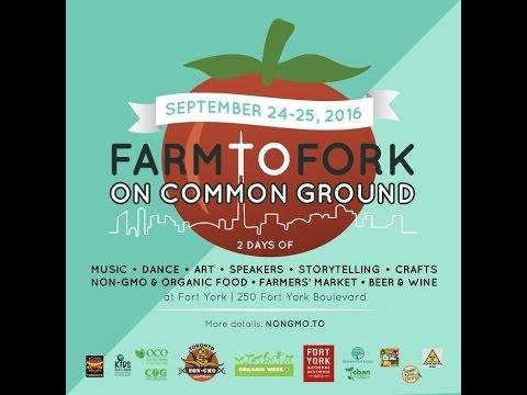 Farm to Fork On Common Ground - JACOB KEARY-MORELAND Toronto Seed Library