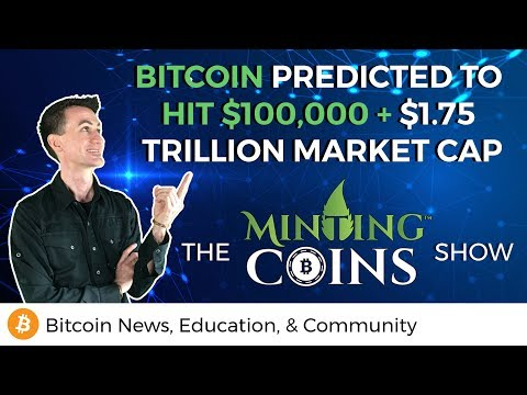 Bitcoin Predicted to Hit $100,000 + $1.75 Trillion Market Ca