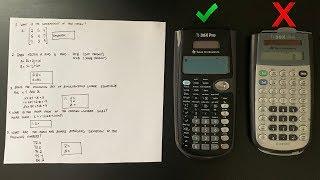 Best FE Calculator (TI-36X Pro)