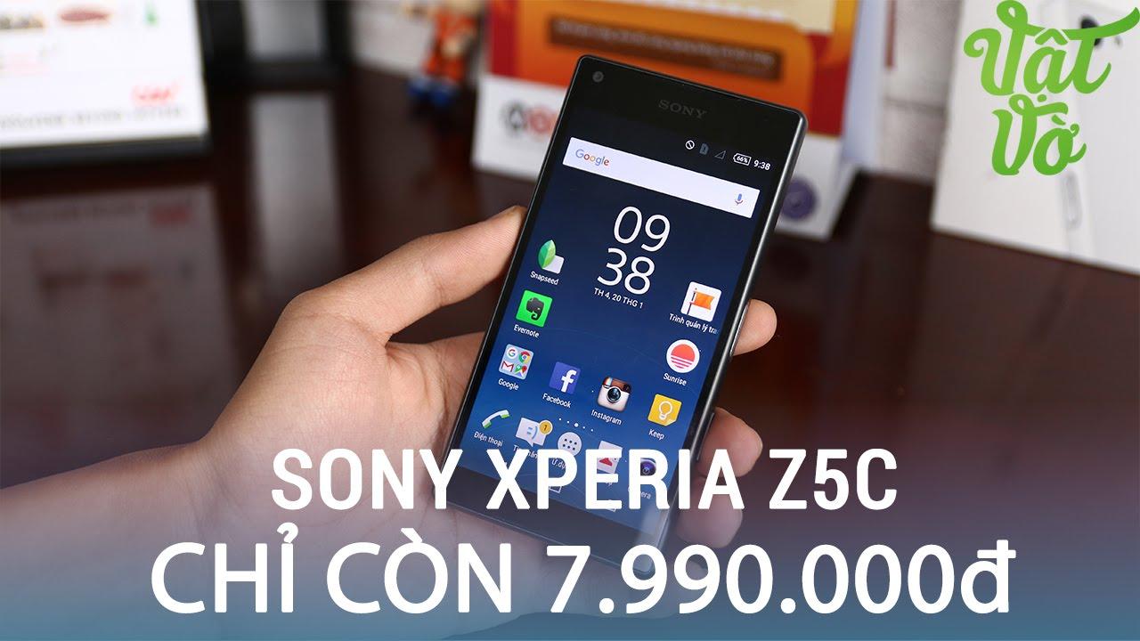 Vật Vờ| Sony Xperia Z5 compact chỉ còn 7,990,000 đ: smartphone đáng để mua