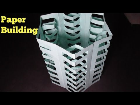 Paper Building - Easy Multi Stories Paper Building