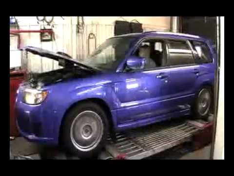 2008 Subaru Forester Sports Xt Dyno Tune By The Boost Creep Youtube