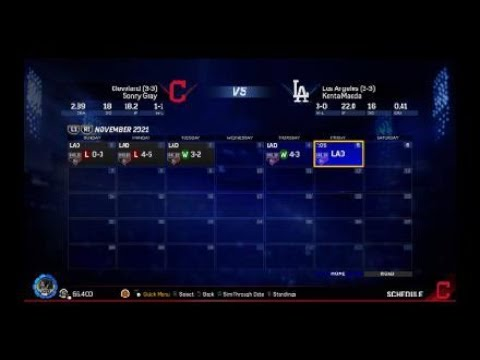 World series game 6! MLB® The Show™ 17 franchise video