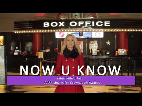 AARP Movies For Grownups Awards - Raina Seitel Reporter Minute
