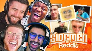 REACTING TO THE SIDEMEN REDDIT