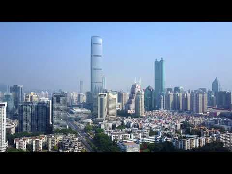Hong Kong and Shenzhen - 4K Drone Footage