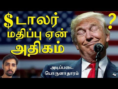 USD vs INR - Economics in Tamil | Dr V S Jithendra