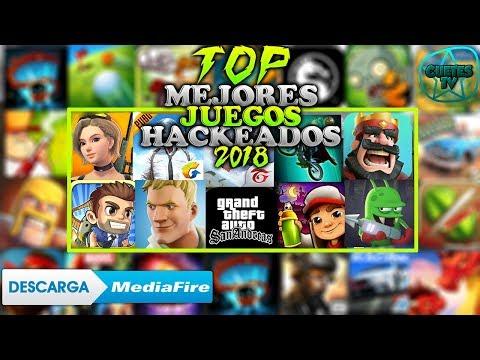 Top 5 Mejores Juegos Hackeados Para Android 2018 Juegos Hackeados