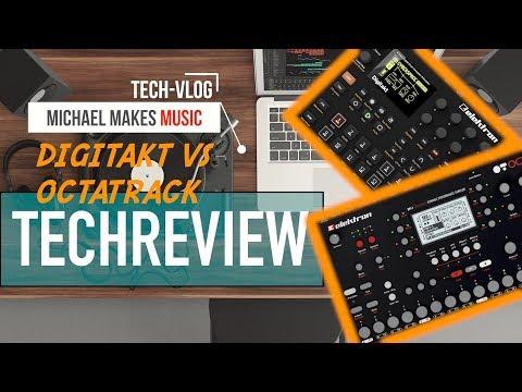 60sec. DIGITAKT vs. OCTATRACK | COMPARISON REVIEW | Michael Kert
