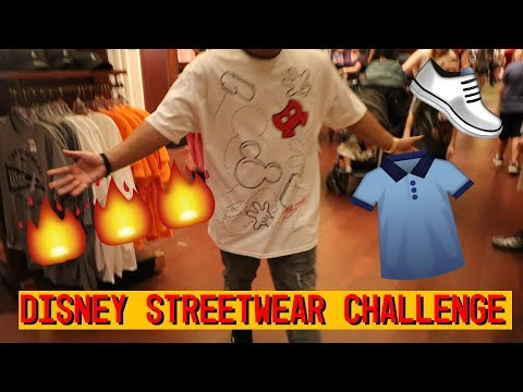 I SPENT $120 ON AN OUTFIT AT DISNEY WORLD (DISNEY STREETWEAR CHALLENGE)