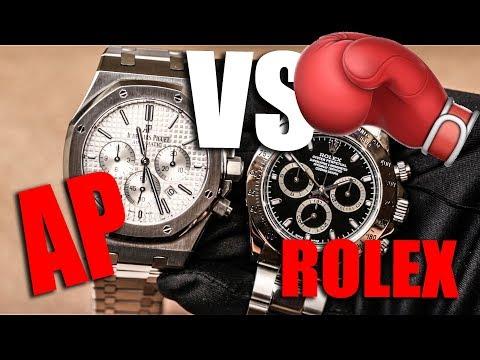 AP VS ROLEX (Royal Oak vs Daytona)