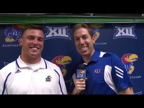 """Four Downs"" with Joe Dineen Jr. // Kansas Football // 9.1.16"