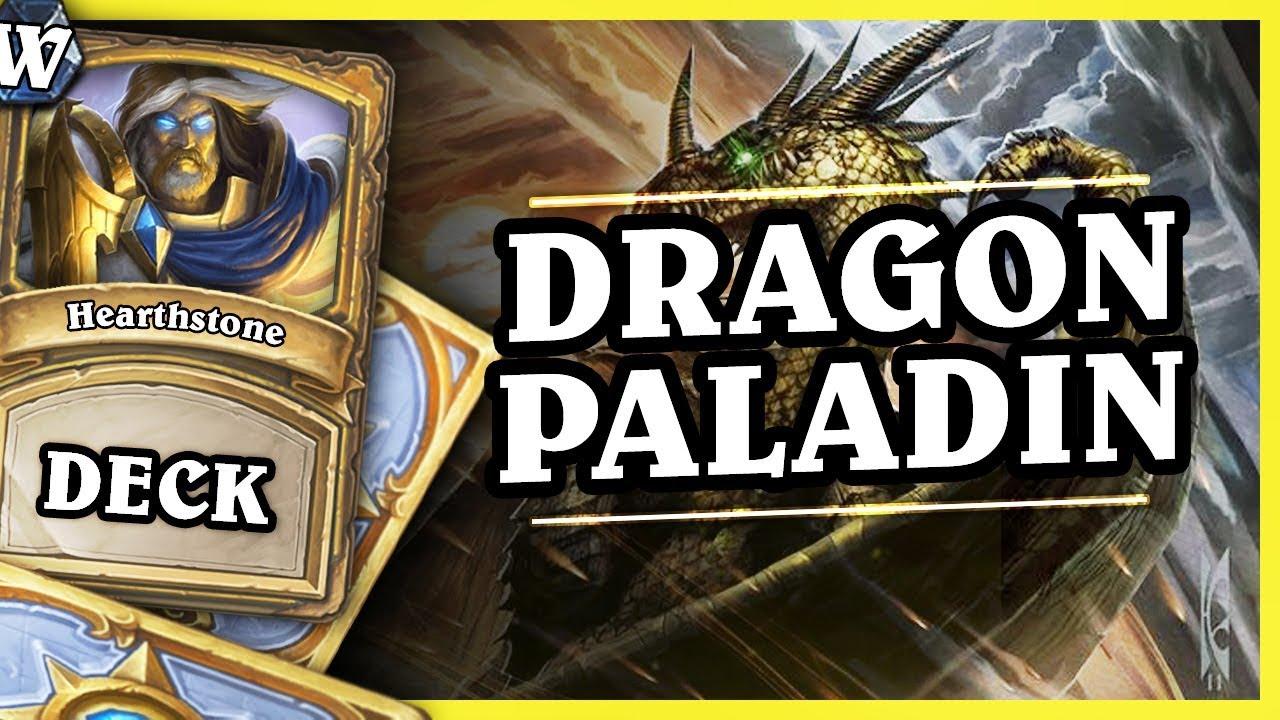 DRAGON PALADIN – Hearthstone Deck Wild (KotFT)