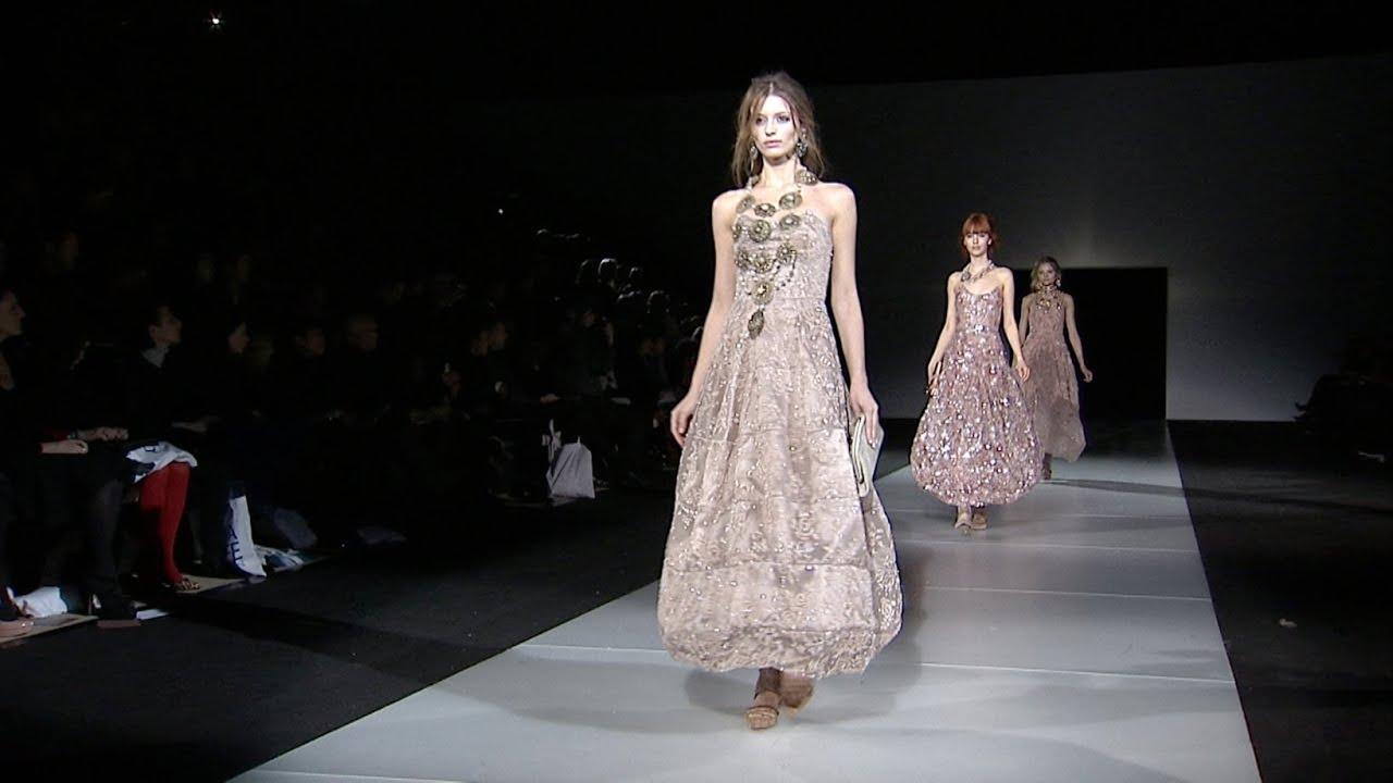 Giorgio Armani - 2011 Fall Winter - Womenswear Collection - YouTube