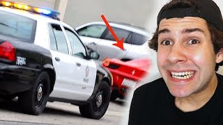 PULLED OVER RIGHT AFTER WE DID THIS!!