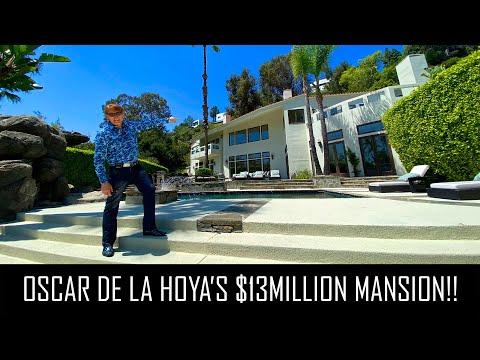 Oscar De La Hoya's $13million Bel Air Mansion