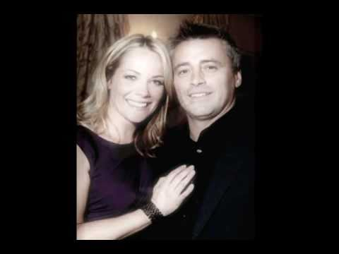 Matt LeBlanc and Andrea Anders together