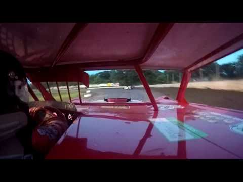 Jeff Crouse Racing.  KRA Speedway.  Super Stock.  6/14/18.  GOPRO