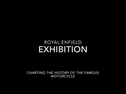 Launch Of Royal Enfield Exhibition In Redditch's Kingfisher Shopping Centre