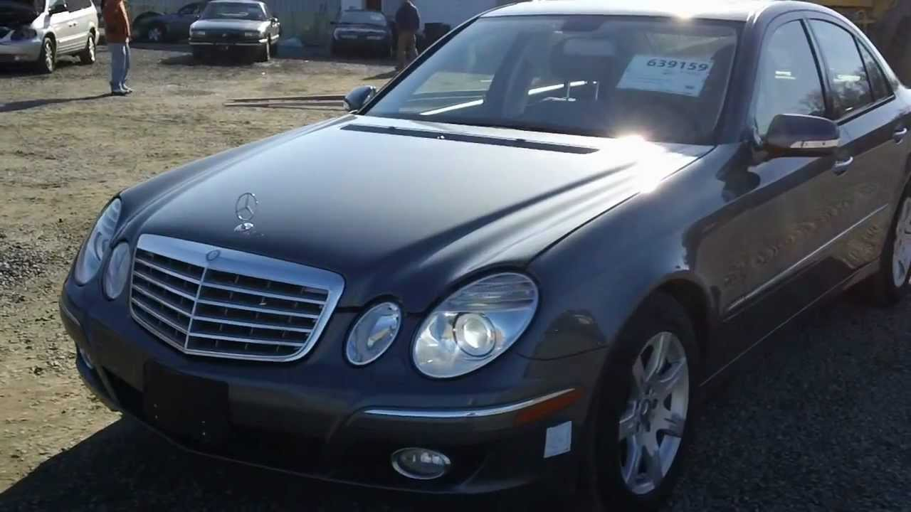 2008 mercedes benz e320 bluetec youtube