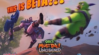 Coup d'oeil sur... Orc Must Die Unchained Bêta Présentation FR HD 1080p