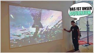 Das Penthouse ist FERTIG! | Aquarium & Musikstudio | (Roomtour)