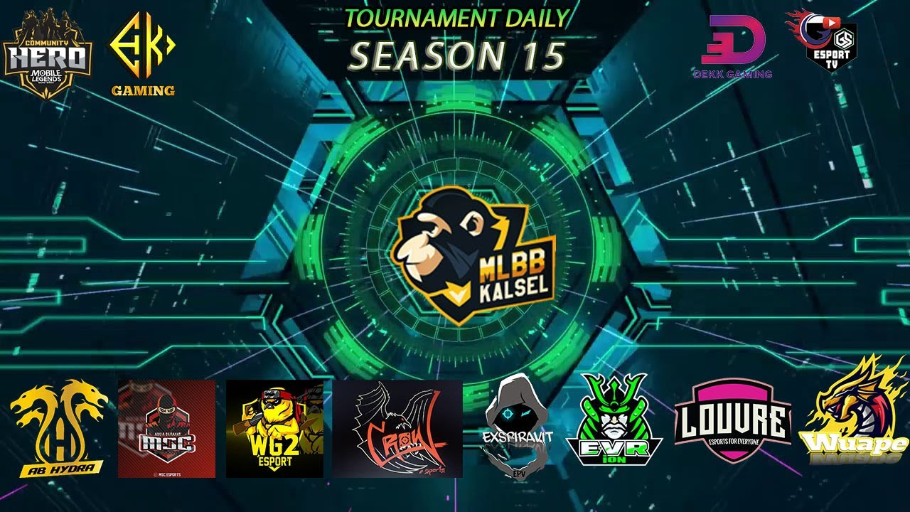 DAILY TOURNAMENT MLBB KALSEL | 15